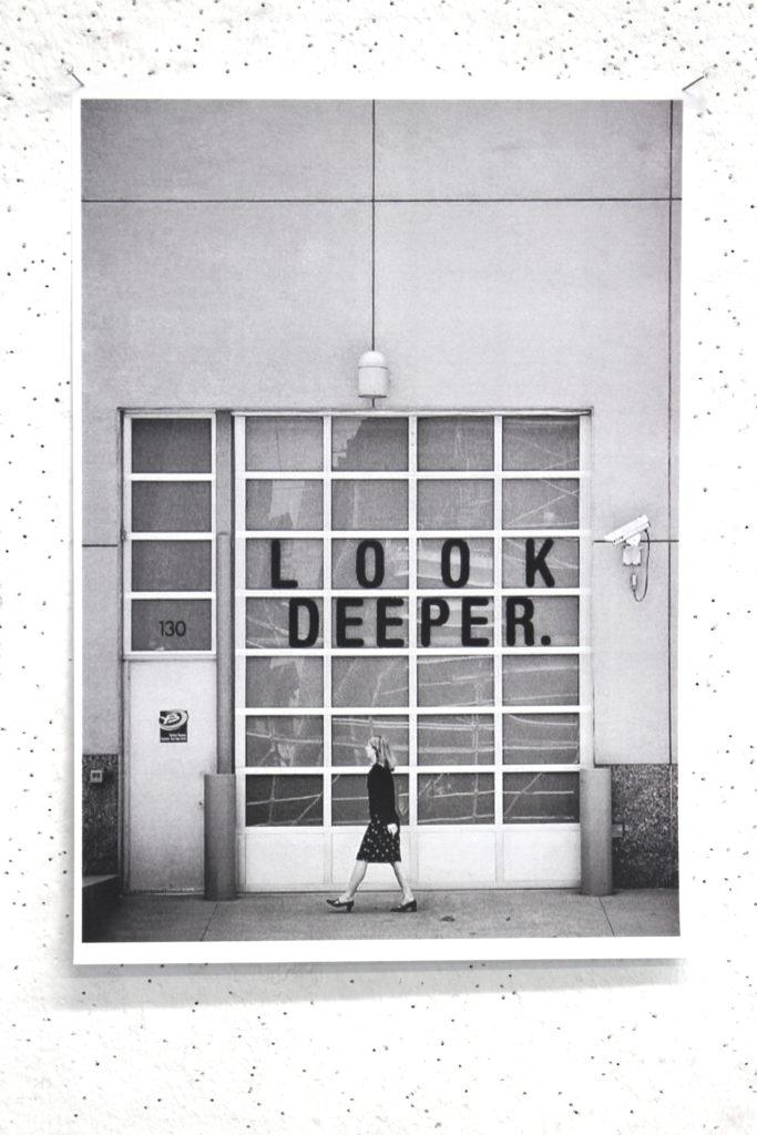 Look deeper